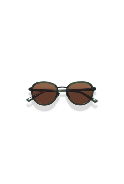 Mota Dark Green Sunglasses