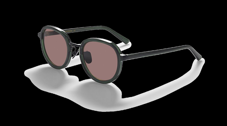 Mota Dark Green Sunglasses-2