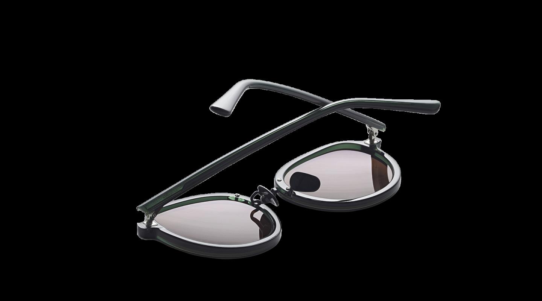 Mota Dark Green Sunglasses-3