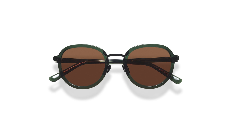 Mota Dark Green Sunglasses-4