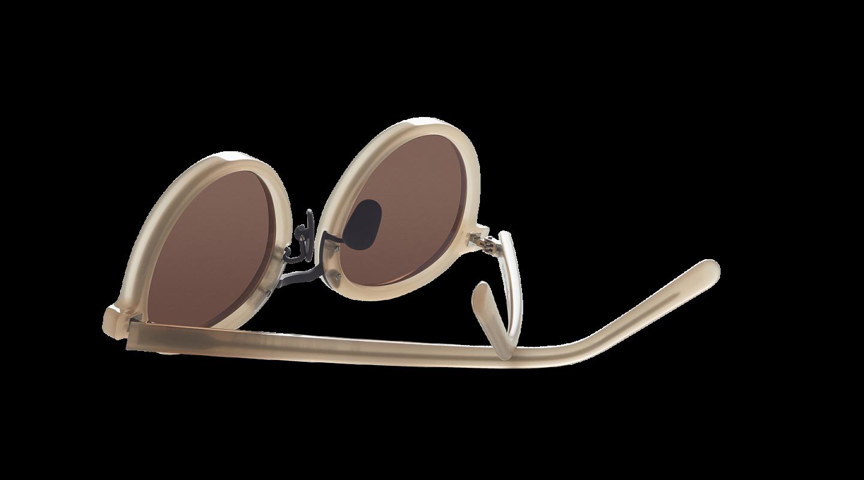 Loren Beige Sunglasses M115-2