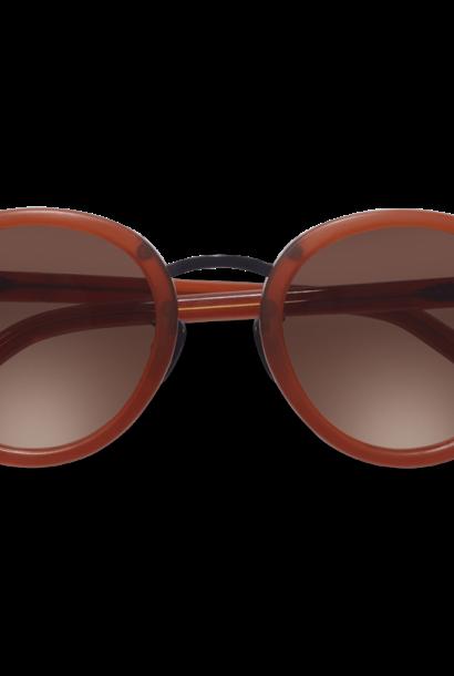 Loren Clay Red Sunglasses M340