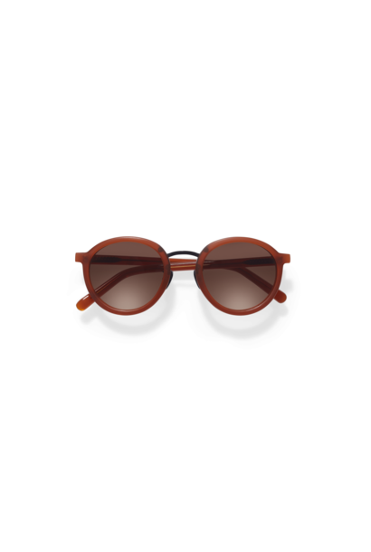 Loren Clay Red Sunglasses