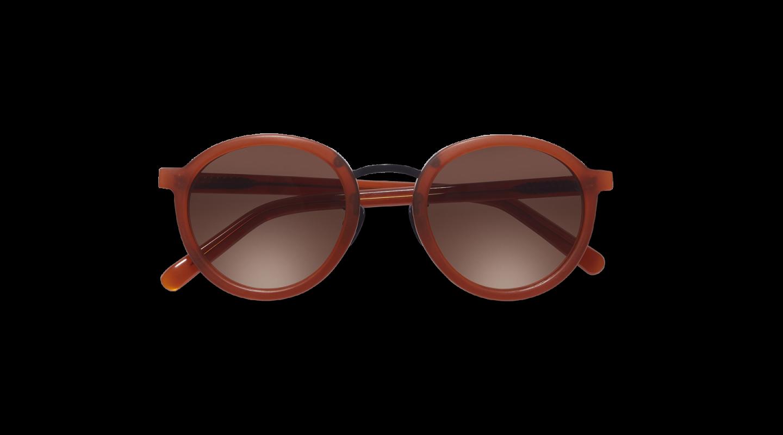 Loren Clay Red Sunglasses M340-1