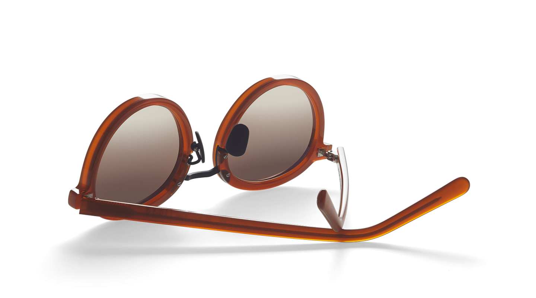 Loren Clay Red Sunglasses M340-3