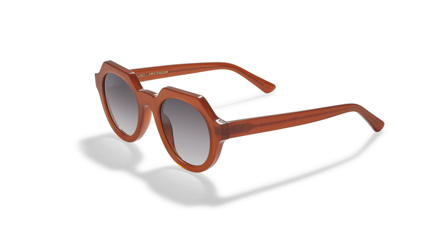 Ides Clay Red Sunglasses-2