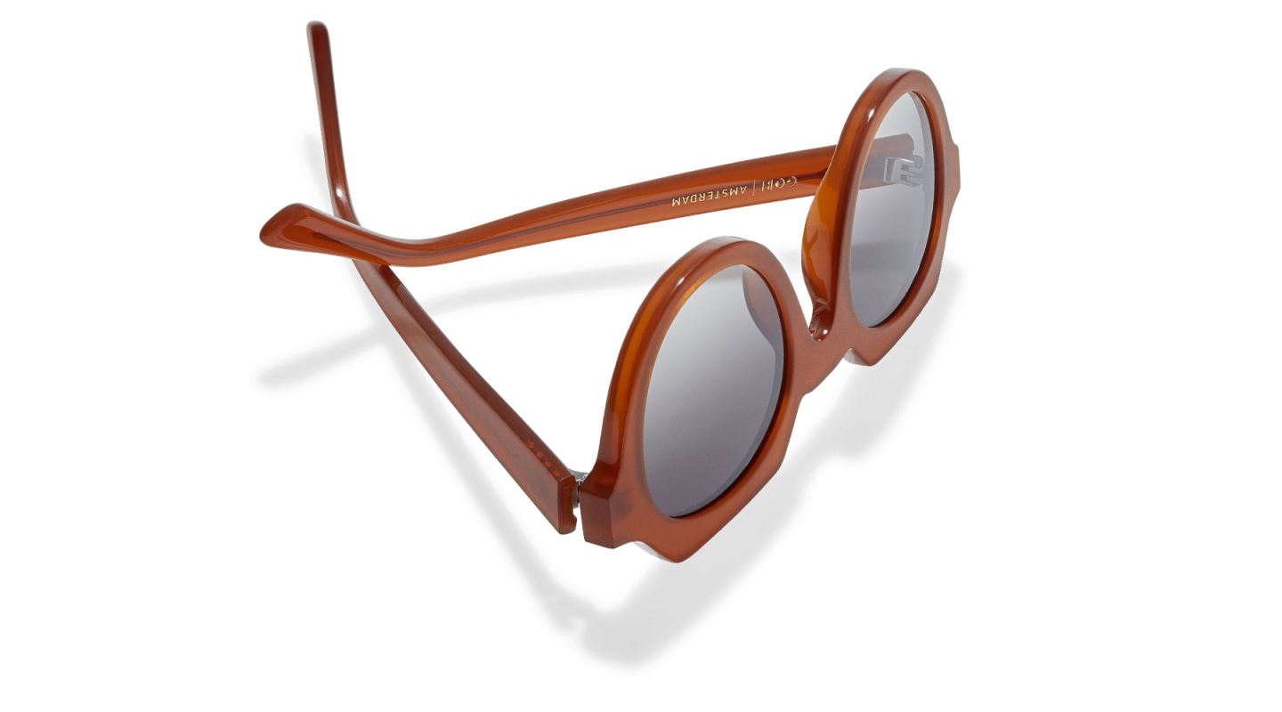 Ides Clay Red Sunglasses-3