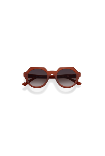 Ides Clay Red Sunglasses