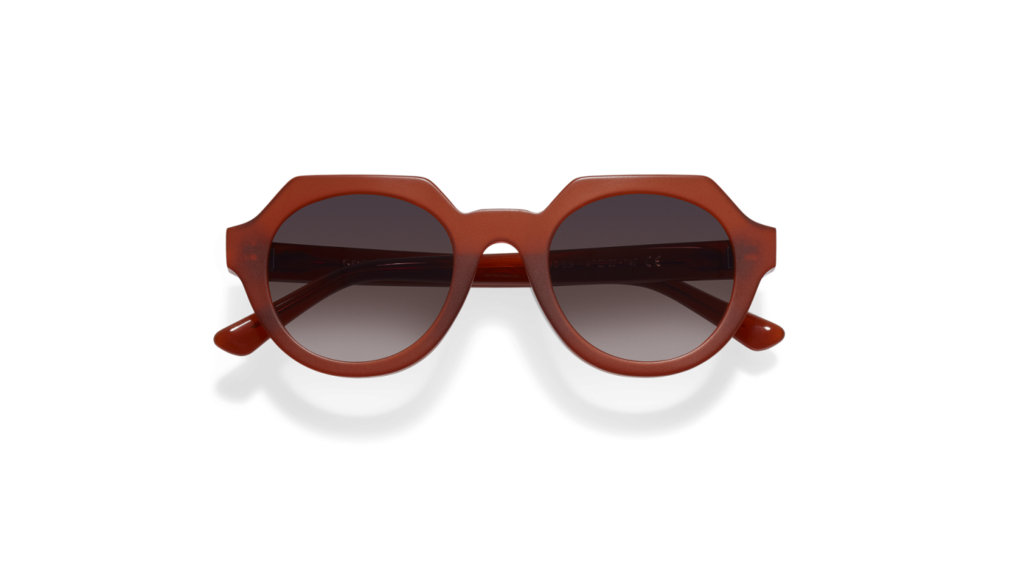 Ides Clay Red Sunglasses-1