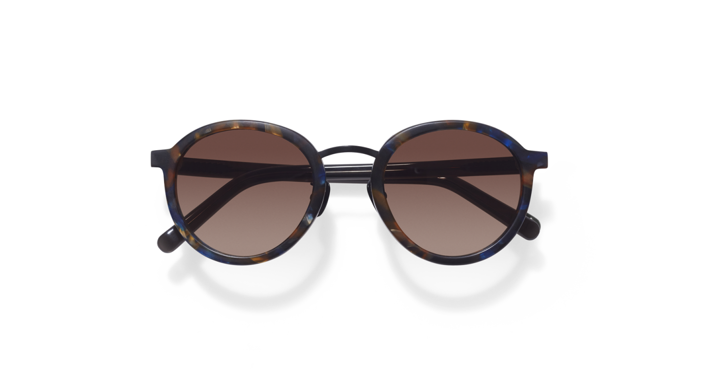 Loren Flame Brown Sunglasses-1