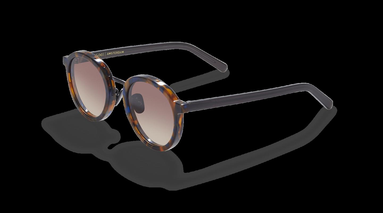 Loren Flame Brown Sunglasses-2