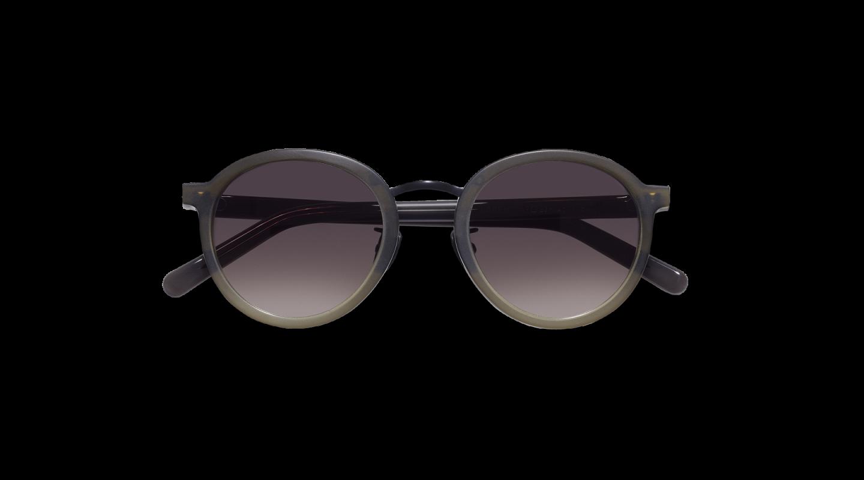 Loren Green Gradient Sunglasses-1