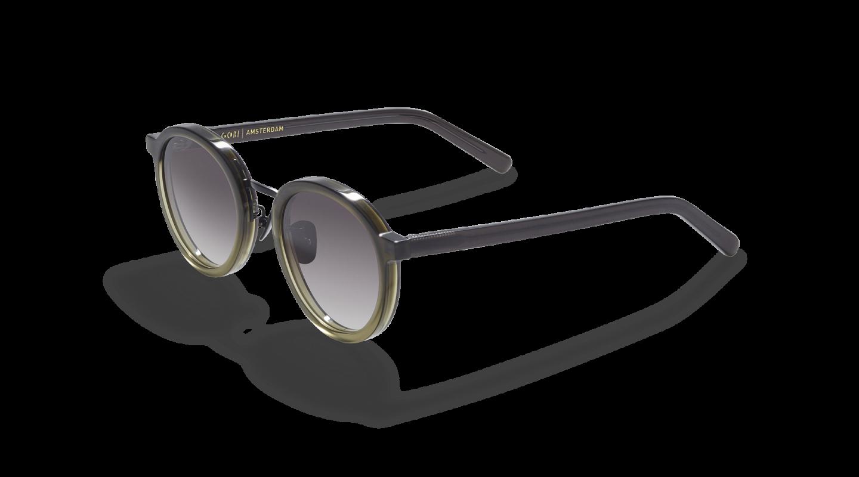 Loren Green Gradient Sunglasses G865-2