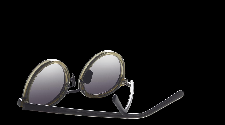 Loren Green Gradient Sunglasses-3
