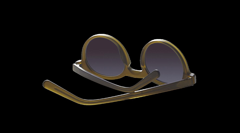 Vares Mat Khaki Green Sunglasses-3