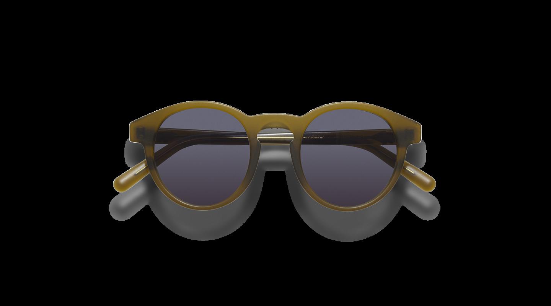 Vares Mat Khaki Green Sunglasses-1