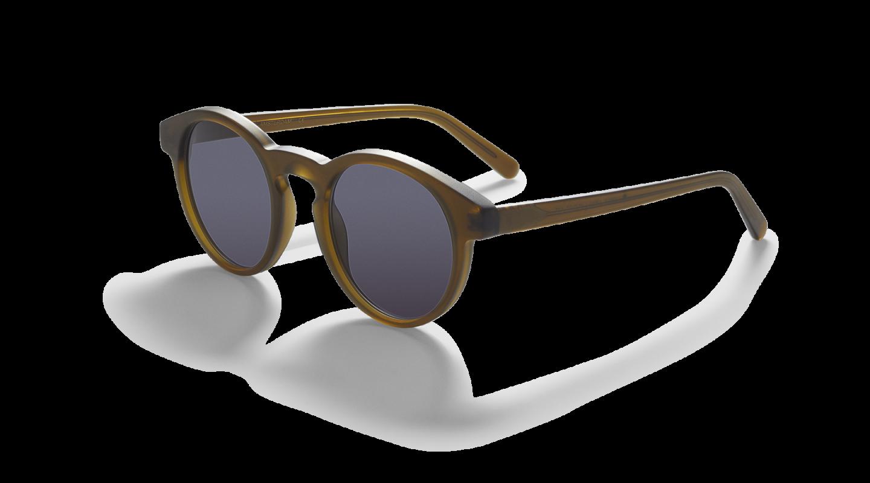 Vares Mat Khaki Green Sunglasses-2