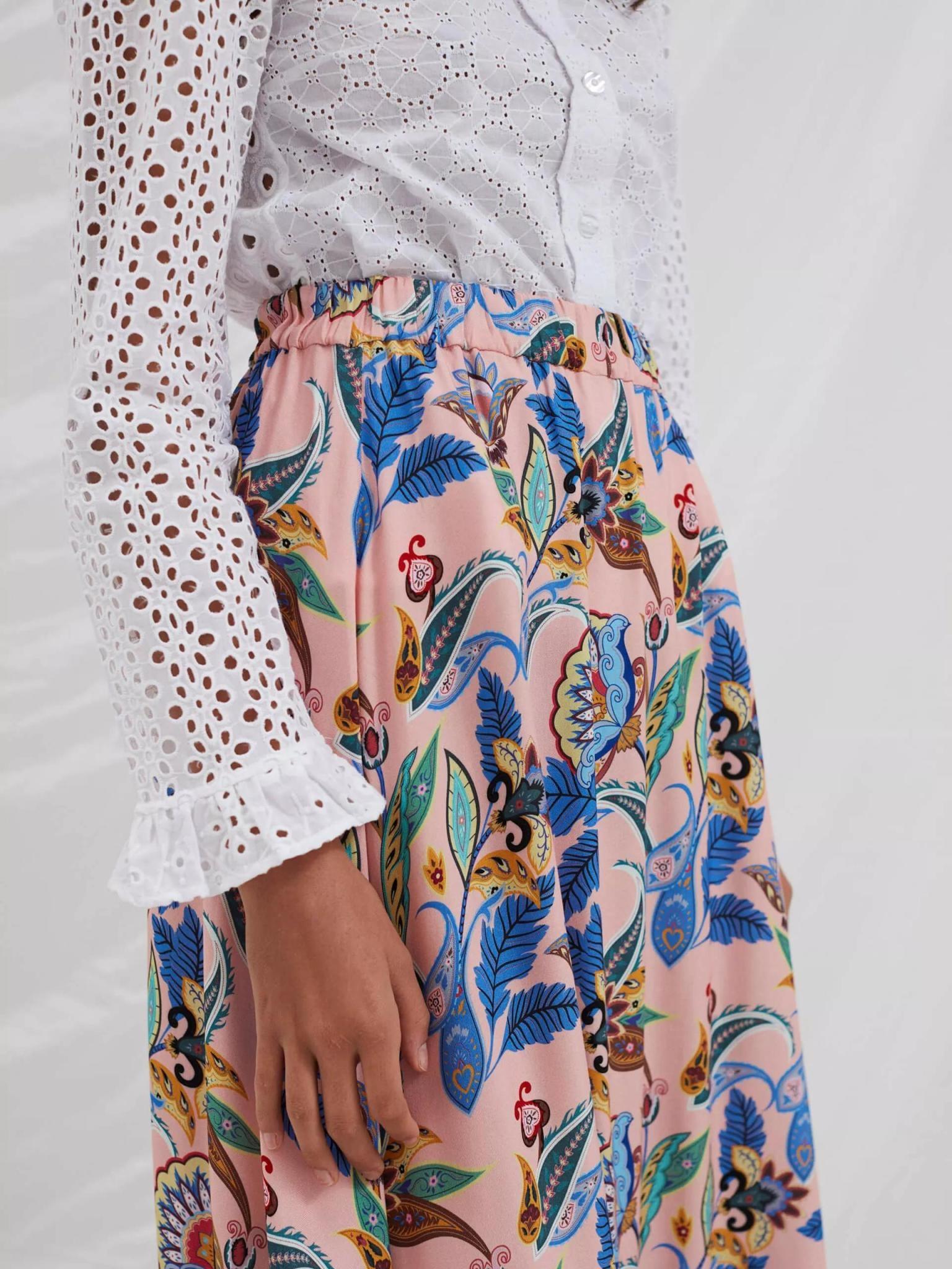 Box Powder Jungle Skirt Pink-2