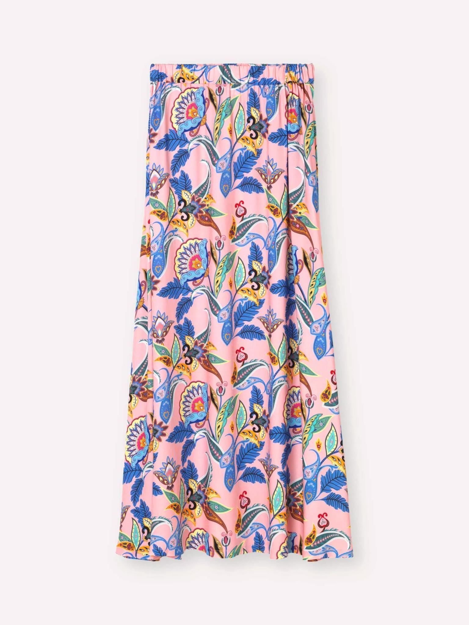 Box Powder Jungle Skirt Pink-1