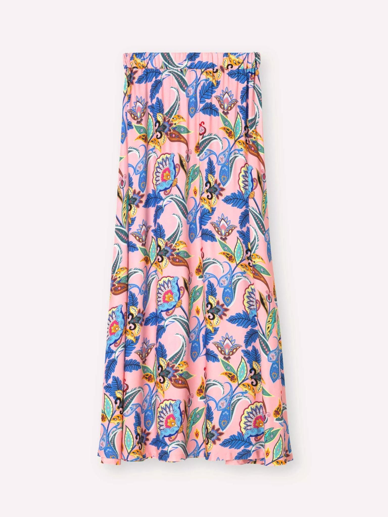 Box Powder Jungle Skirt Pink-5
