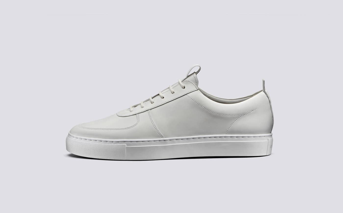 Sneaker 22 White Calf Leather-3