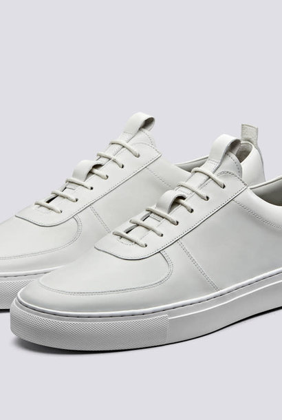 Sneaker 22 White Calf Leather