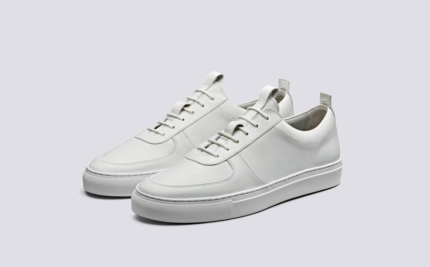 Sneaker 22 White Calf Leather-1