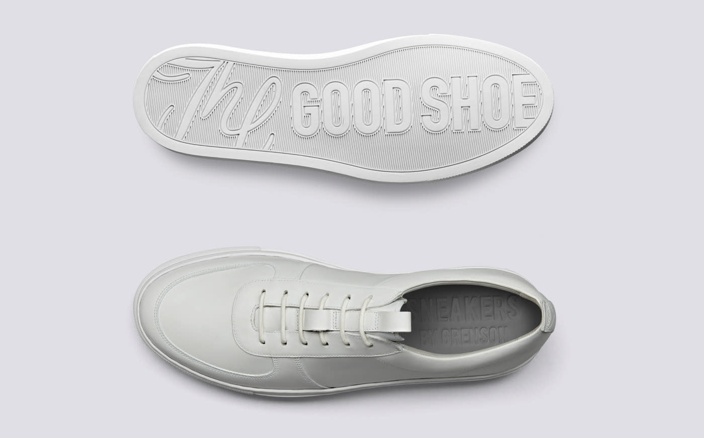 Sneaker 22 White Calf Leather-2