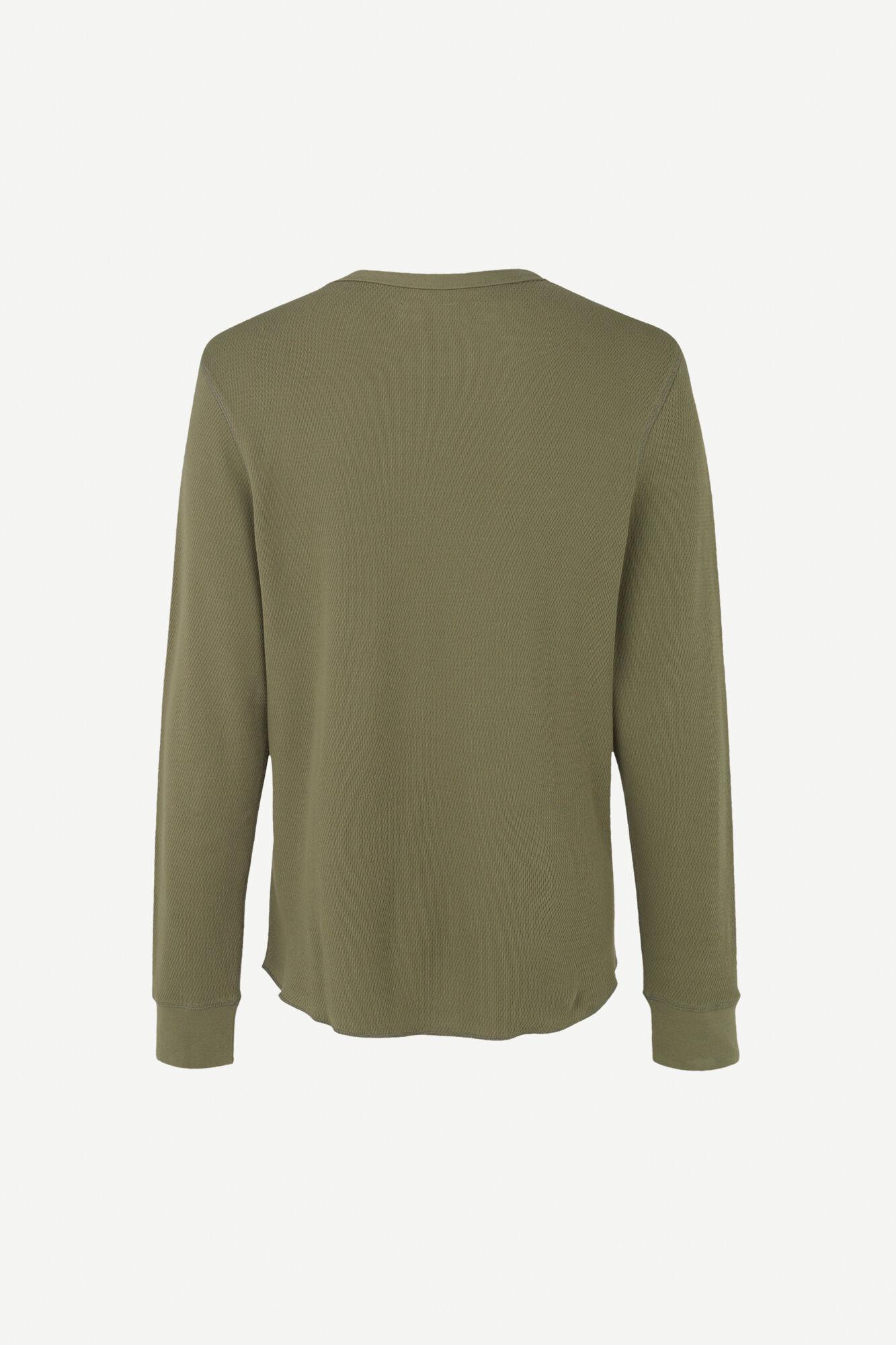 Parmo T-shirt Lange Mouw Deep Lichen Green-2