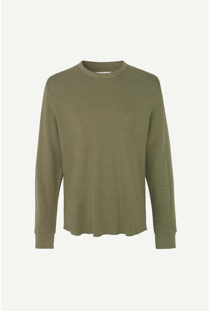 Parmo Longsleeve T-Shirt Deep Lichen Green