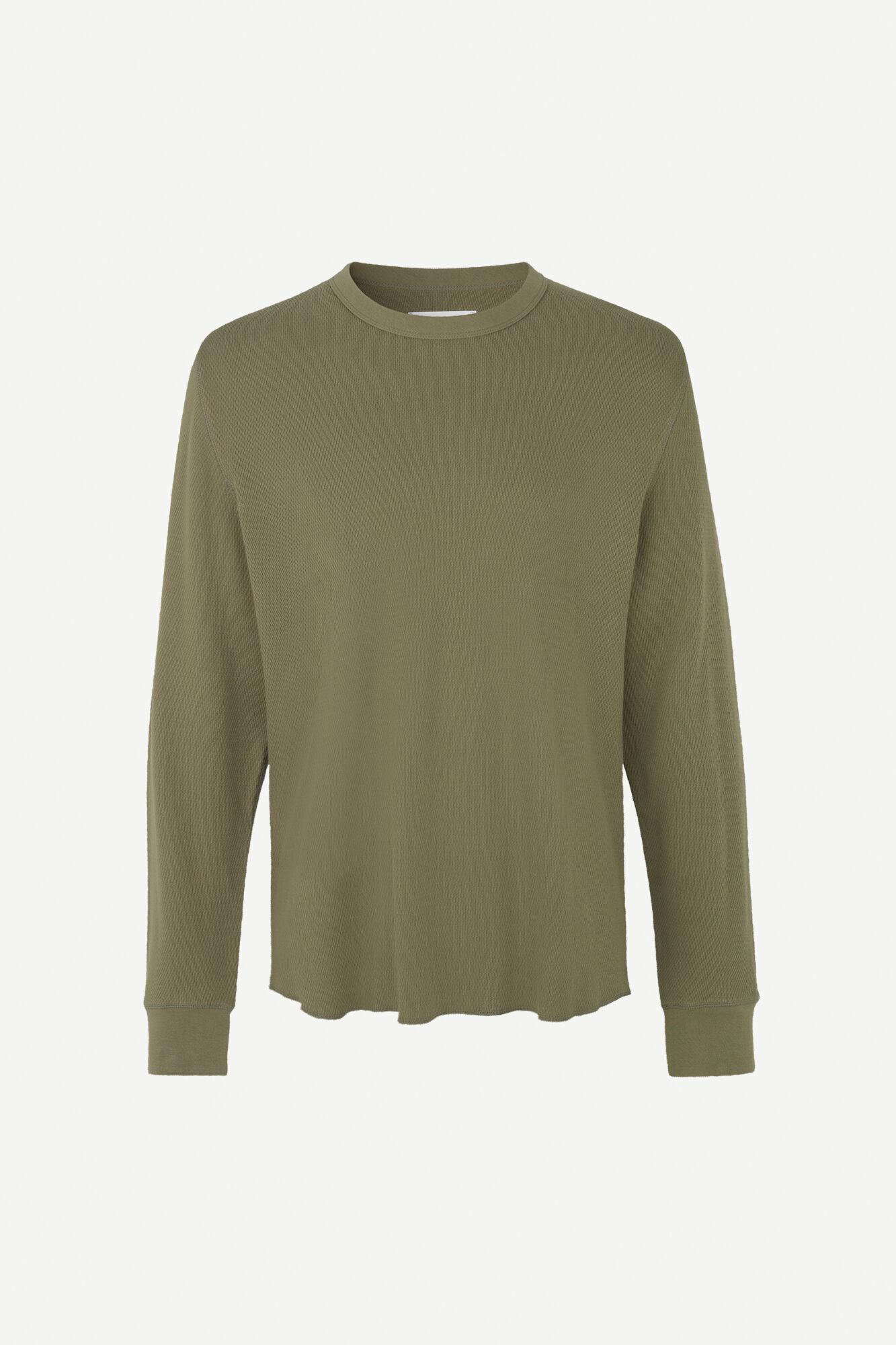 Parmo T-shirt Lange Mouw Deep Lichen Green-1