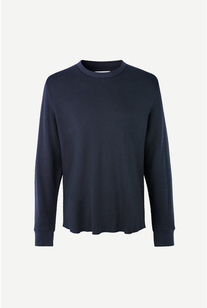 Parmo Longsleeve T-Shirt Night Sky Blue