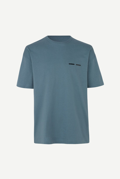 Toscan T-Shirt Blue Mirage