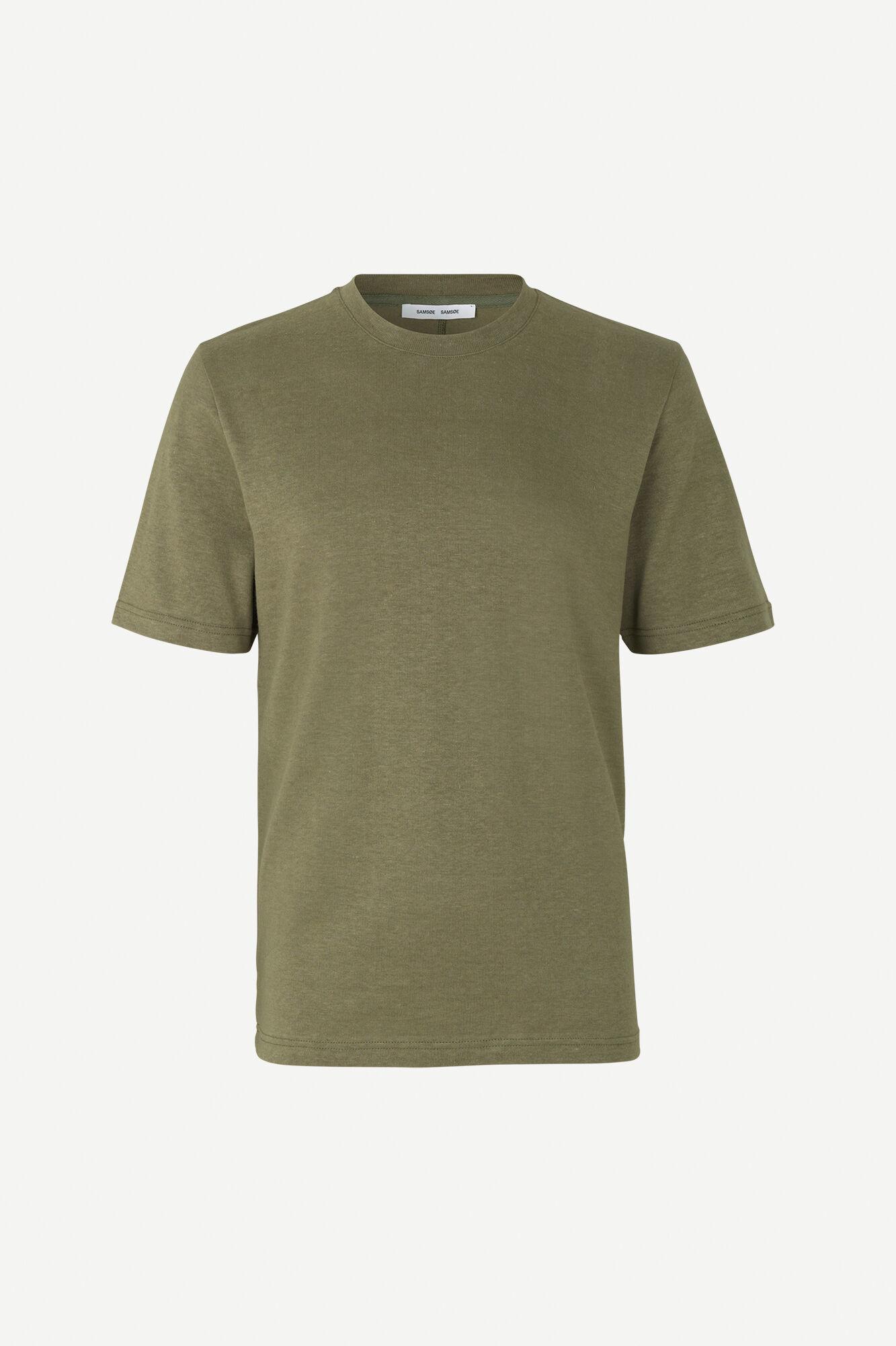 Ballum T-Shirt Deep Lichen Green-1