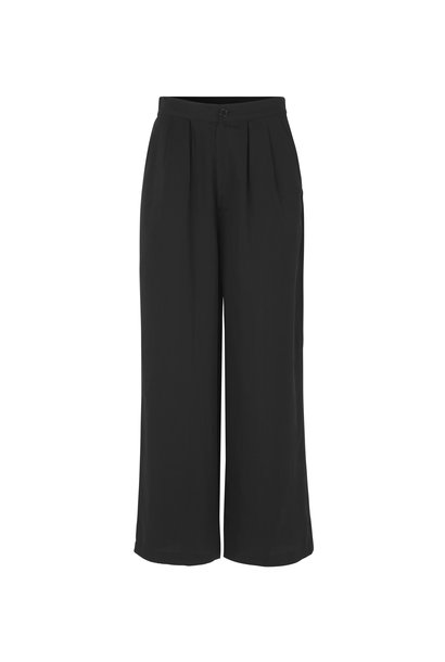 Kanni Wide Pants Black Lyocell