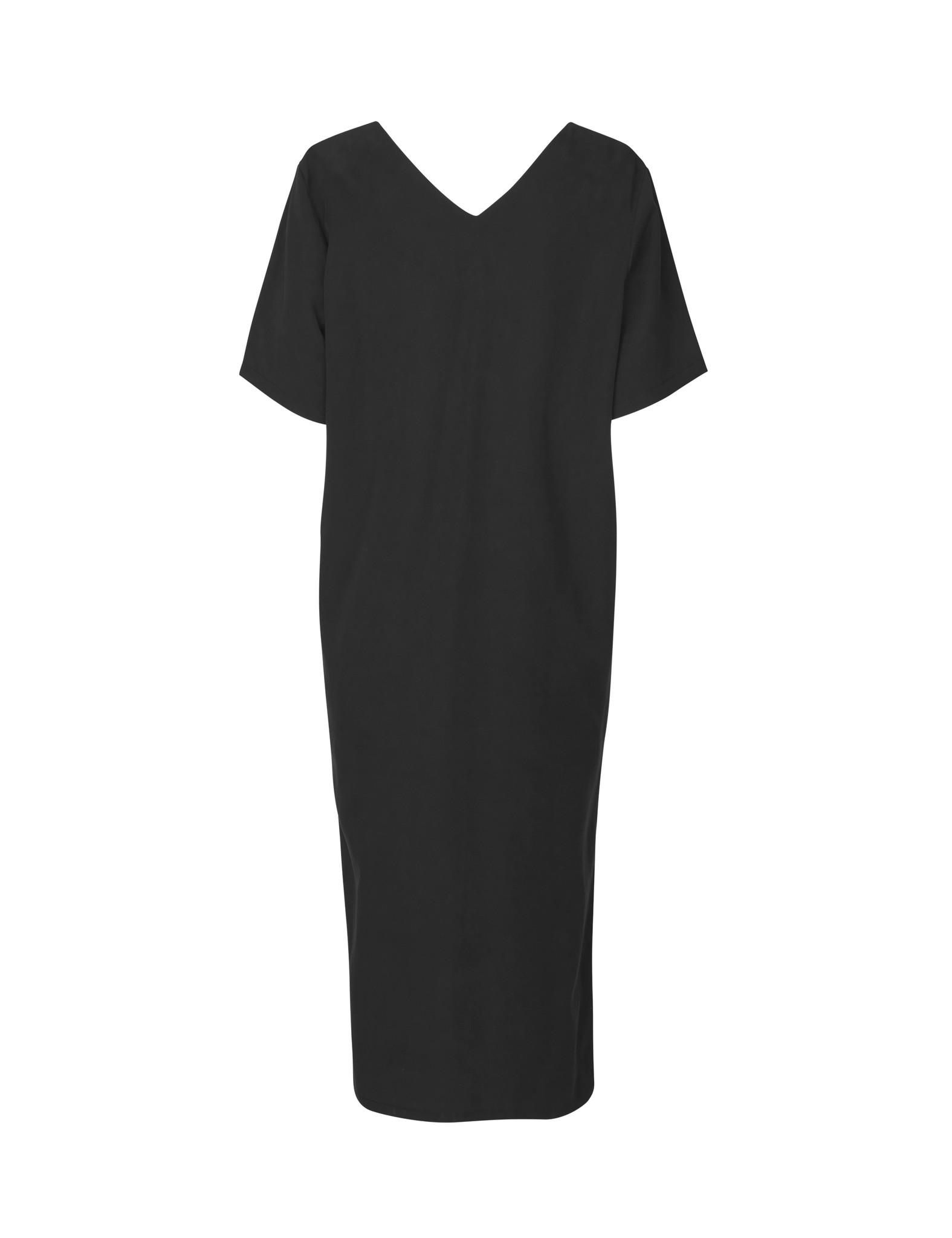 Vinnie Dress Black Lyocell-2