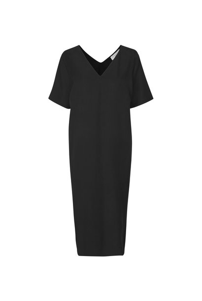 Vinnie Dress Black Lyocell