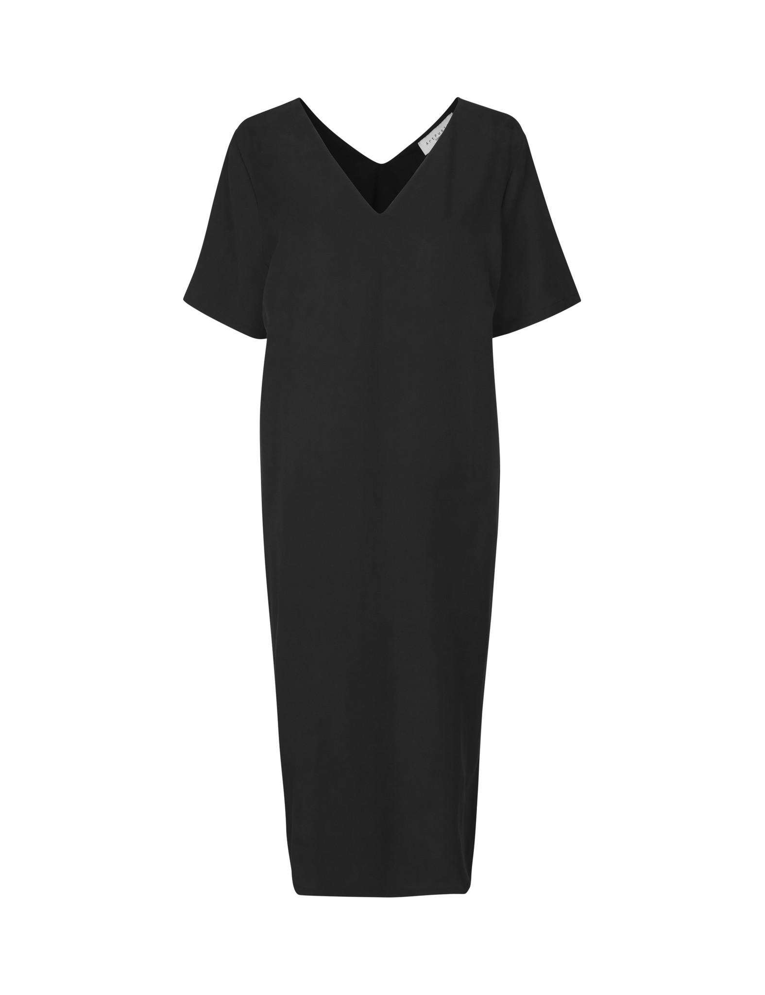 Vinnie Dress Black Lyocell-1