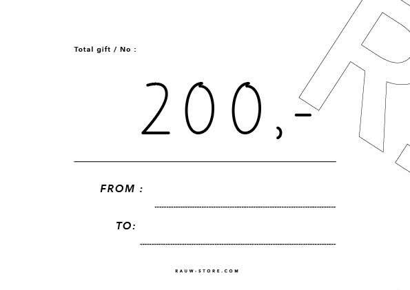 Gift Card 200 Euro-1