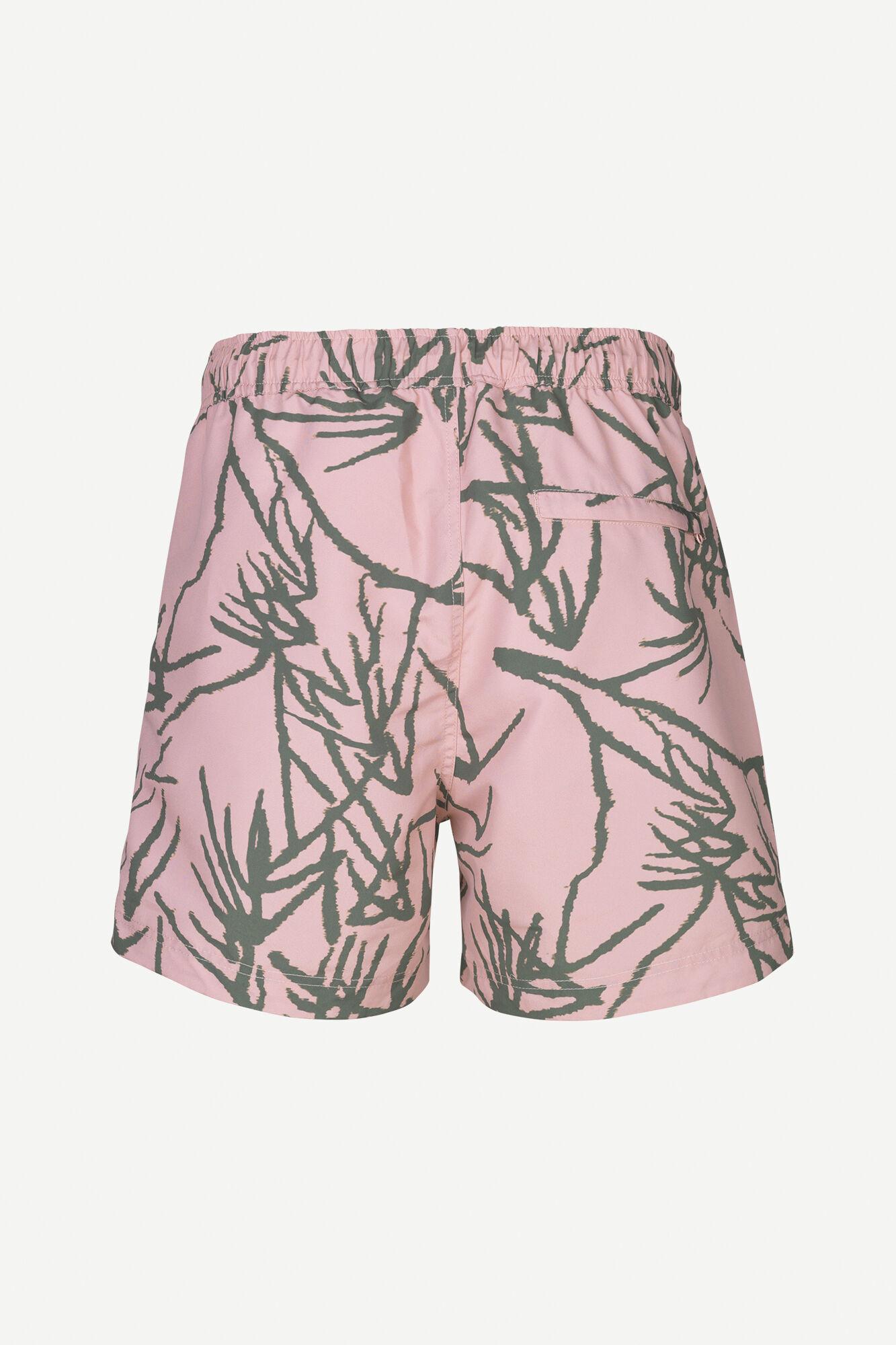 Mason Swim Short Misty Rose Palm-2