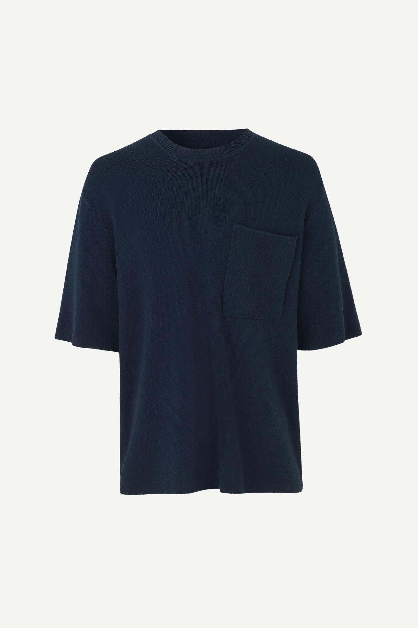 Parma Short Sleeve Sweatshirt Night Sky Blue-1