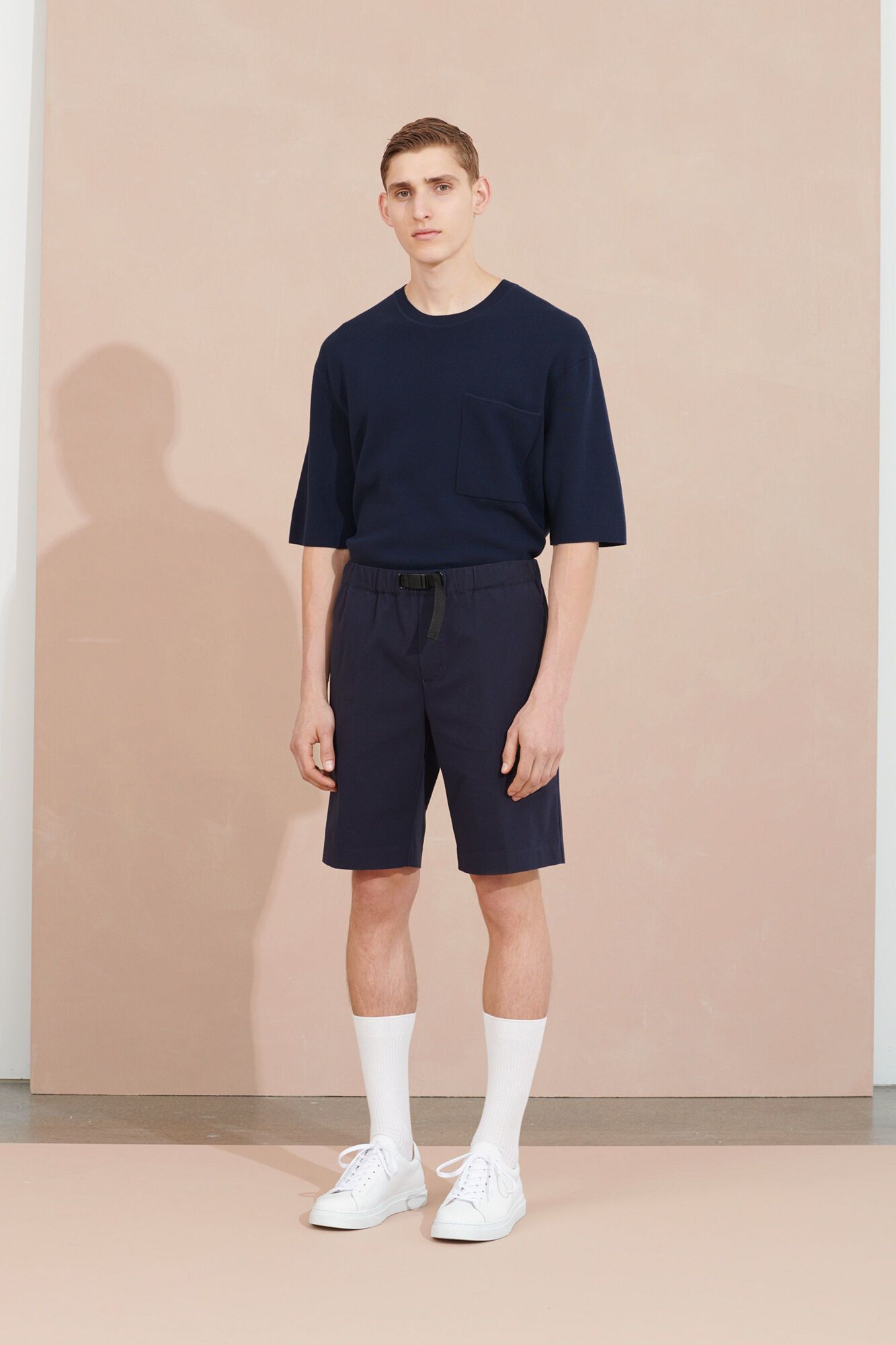 Parma Short Sleeve Sweatshirt Night Sky Blue-3