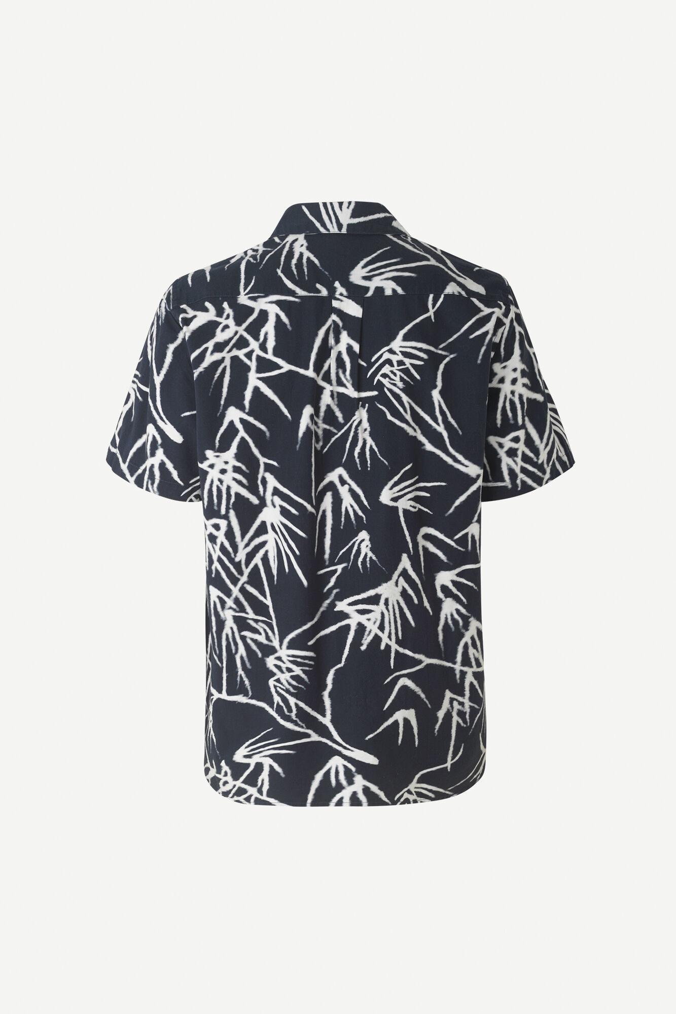 Einar SX Short Sleeve Shirt Night Sky Palm-2