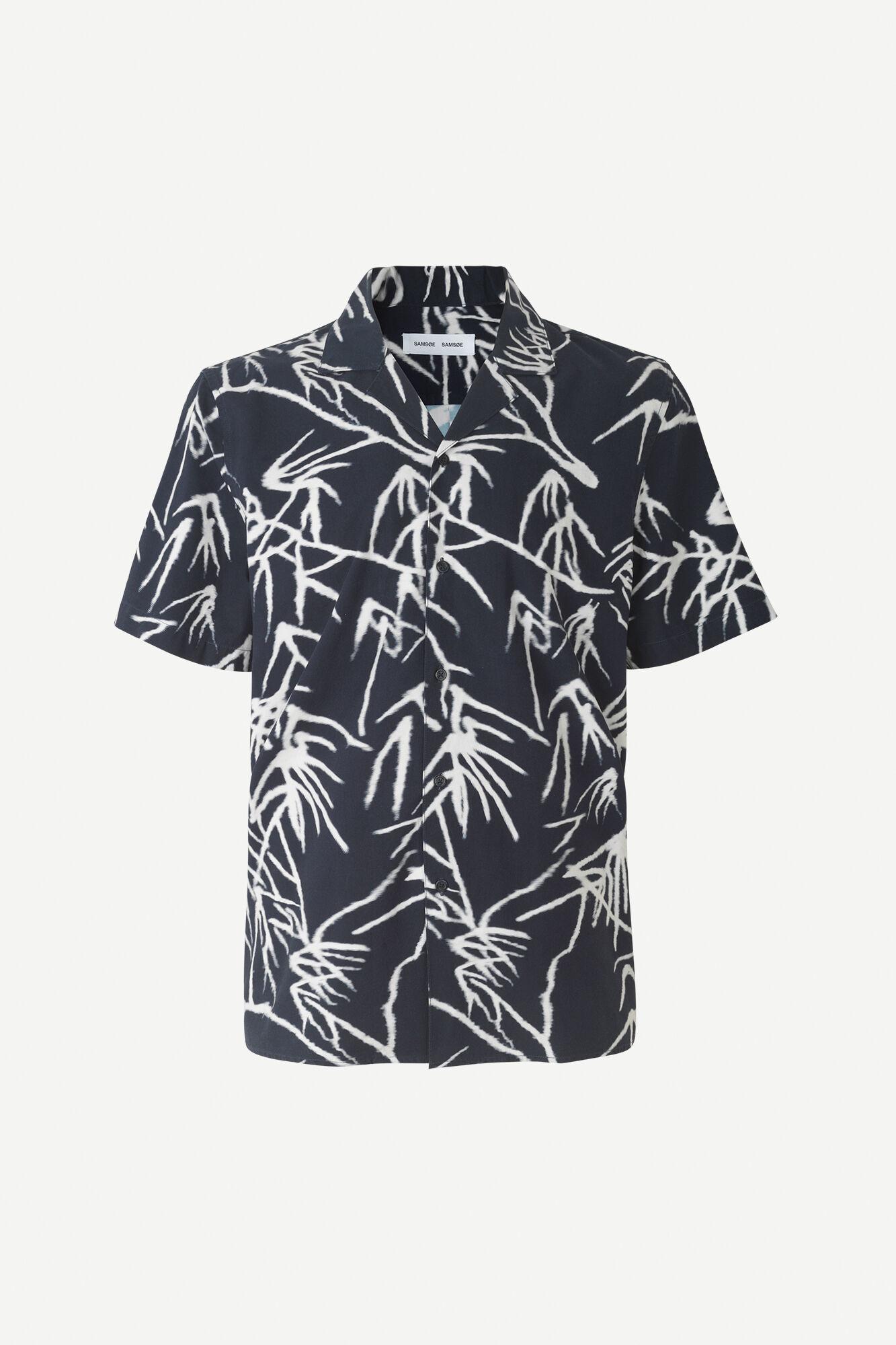 Einar SX Short Sleeve Shirt Night Sky Palm-1