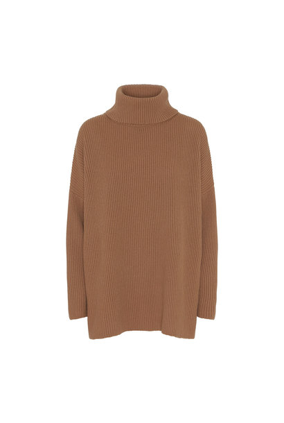Billy Knit Sand Brown Organic Wool