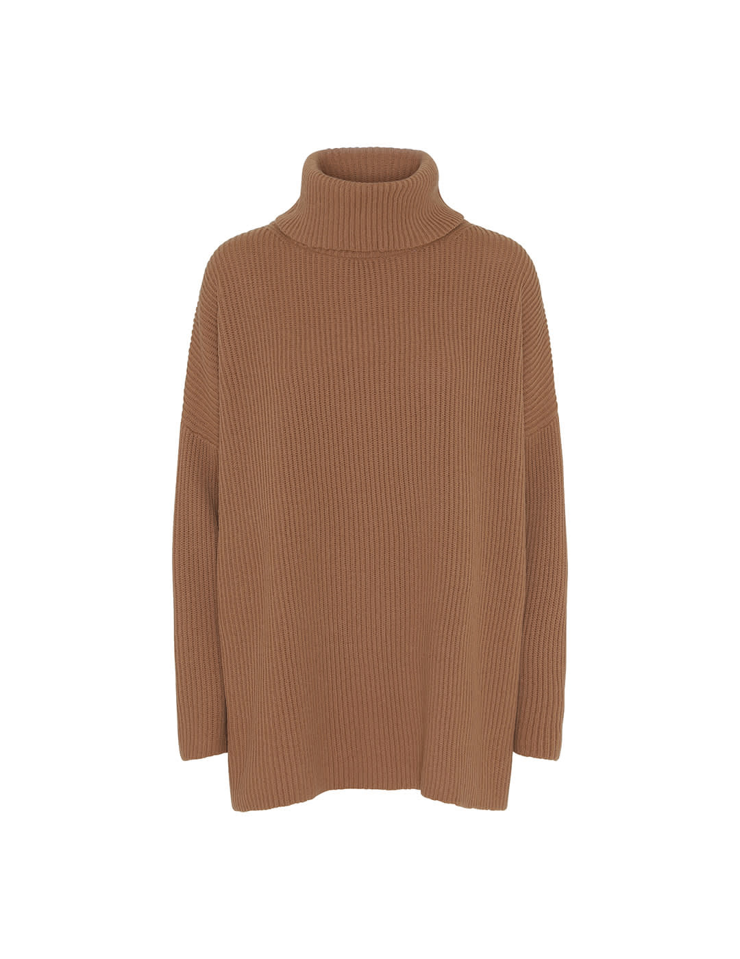 Billy Knit Sand Brown Organic Wool-1