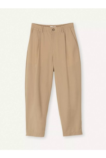 Smoke Loose Fit Pants Sand