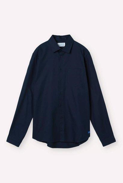 Miracle Overshirt Donker Marine Blauw