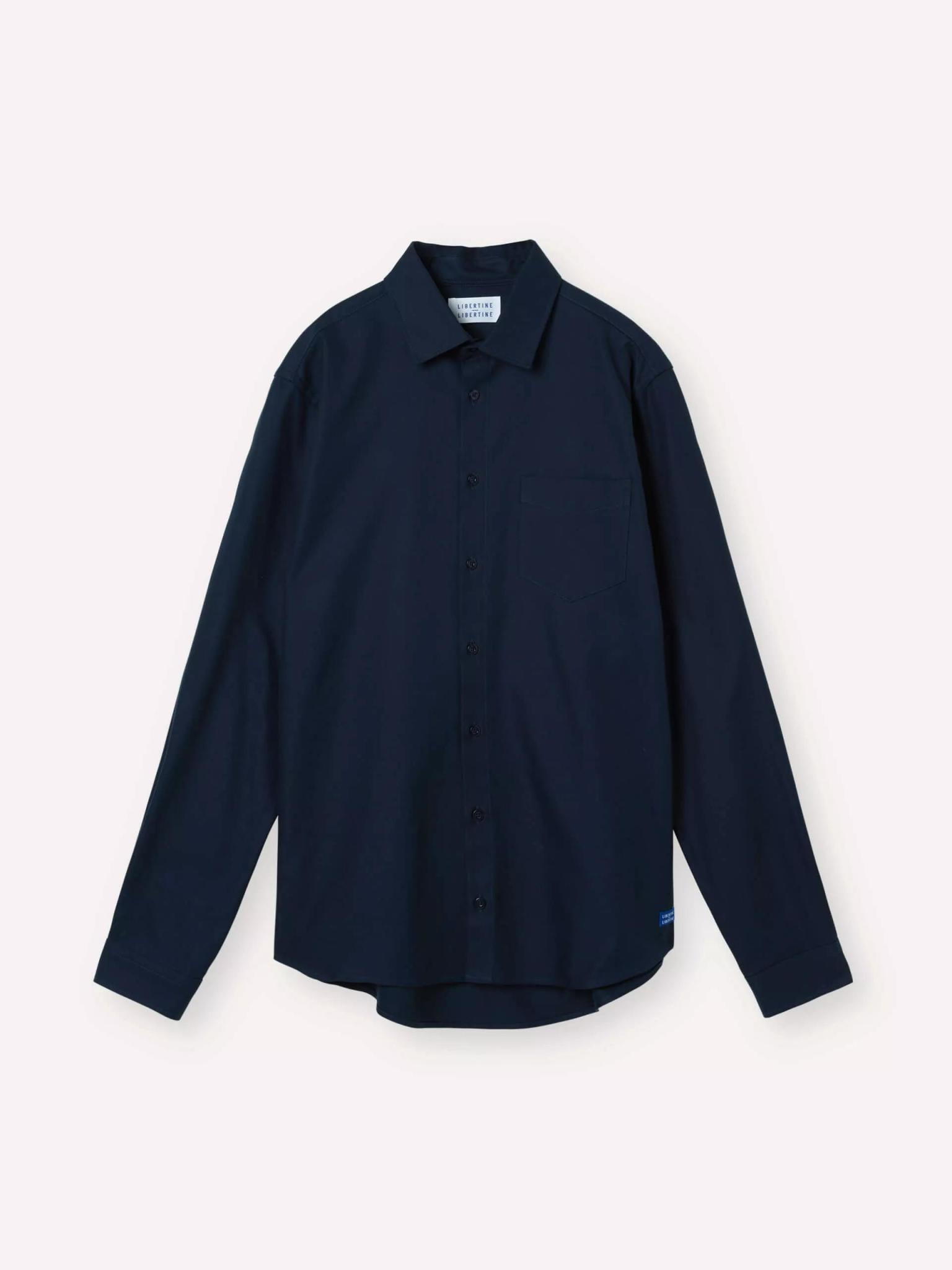 Miracle Overshirt Dark Navy-1