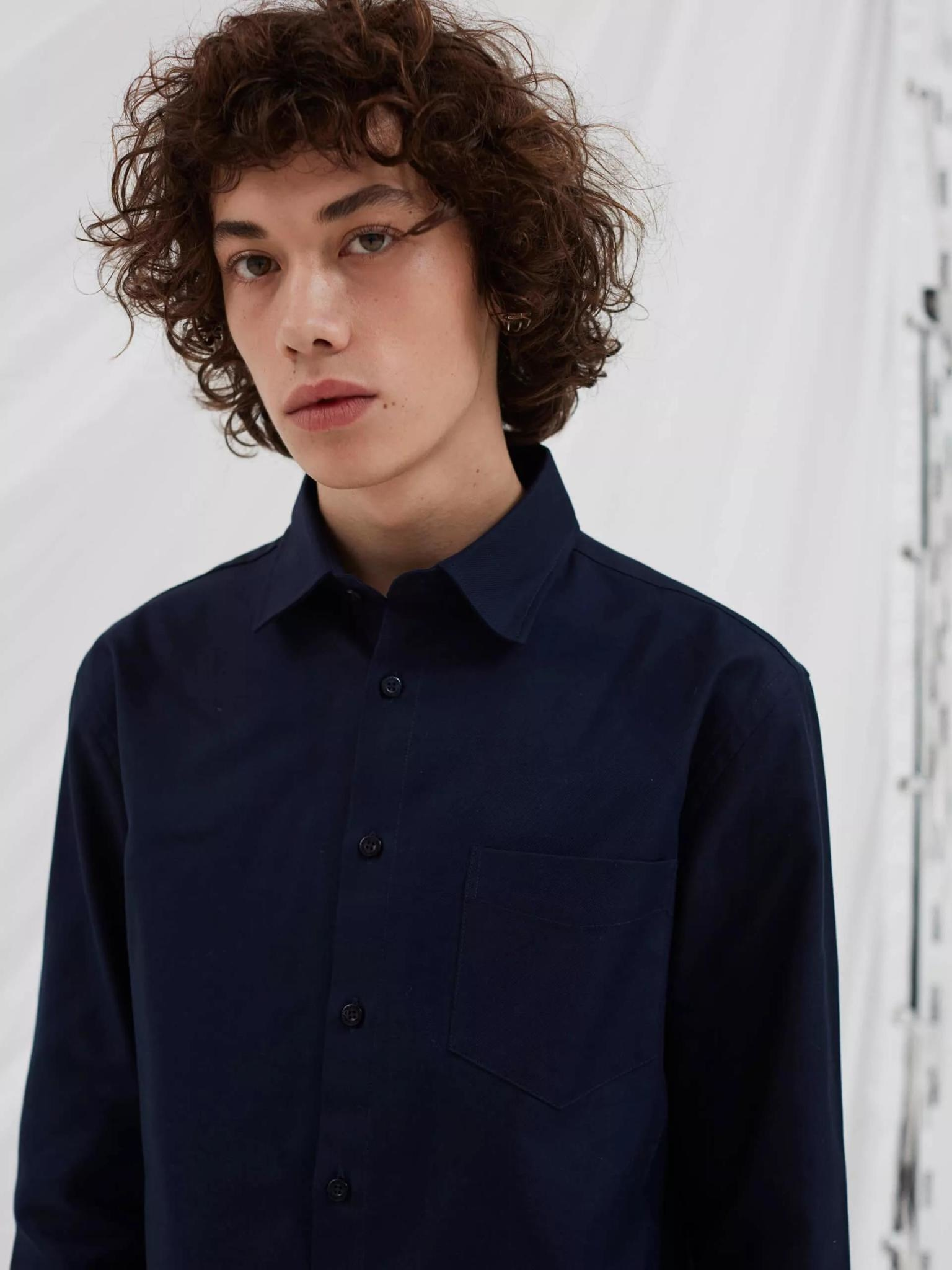 Miracle Overshirt Dark Navy-3